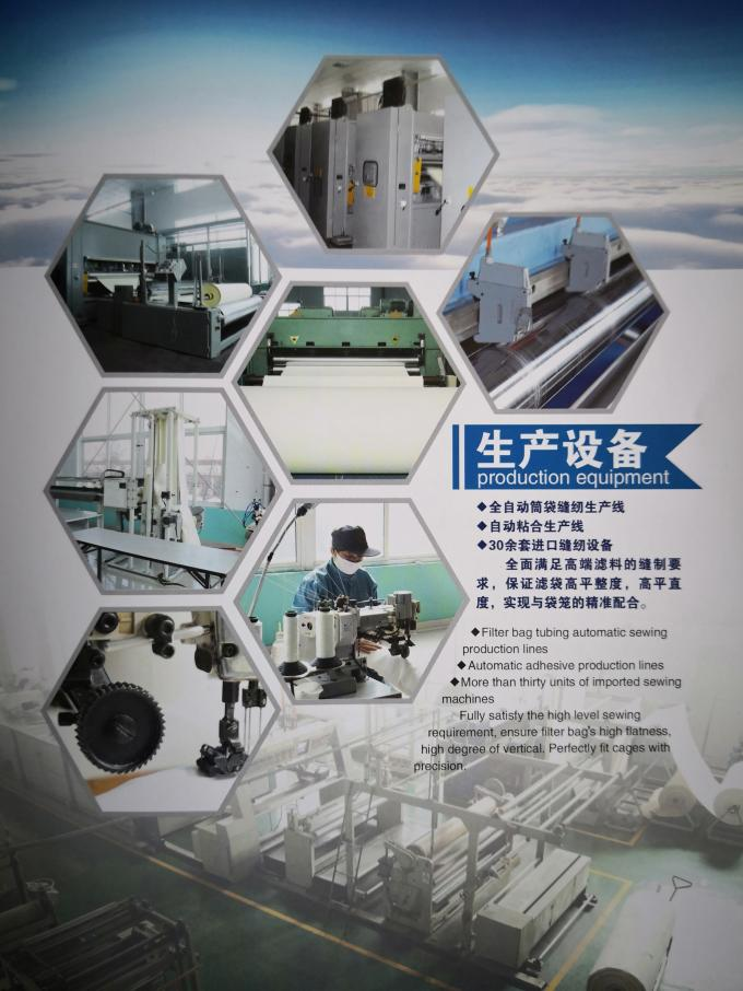 Shanghai ShengXuan Environmental Engineering Co.,LTD línea de producción de fábrica 0